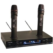 Pyle® PDW-M3000 Dual VHF Rechargeable Wireless Microphone System