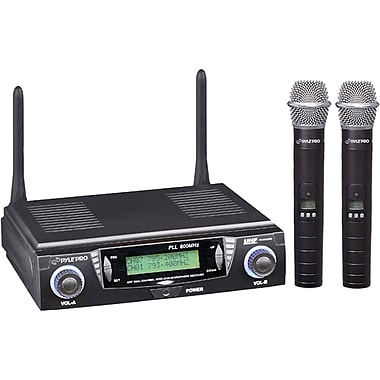 Pyle® PDWM3300 Dual Channel Wireless Microphone System