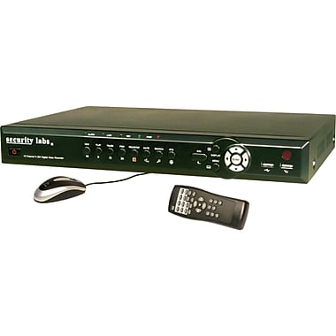 Security Labs® SLD256 16-Channel Digital Video Recorder, Black