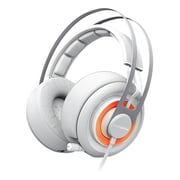 SteelSeries Siberia Elite Over-The-Head Headset, White