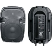 "Pyle® PPHP1085A 600 W 10"" Powered 2 Way Plastic Molded Speaker System"