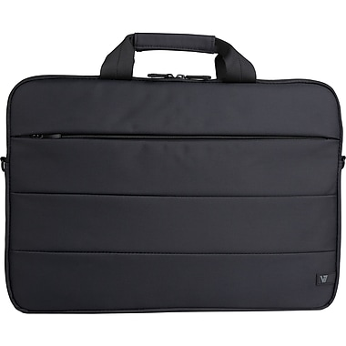 V7 Notebook Carrying Cases Nylon Cityline Toploader Bag 14.1in.