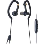 Audio Technica-Headphones Sonicsport Ath-Ckp200isbk In-Ear Headphones For Smartphones Black