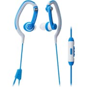 Audio Technica-Headphones Sonicsport Ath-Ckp200isbl In-Ear Headphones For Smartphones Blue