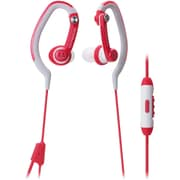 Audio Technica-Headphones Sonicsport Ath-Ckp200isrd In-Ear Headphones For Smartphones Red