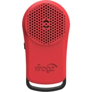 Zagg Inc. - Ifrogz Tadpole Iftdpl-Br0 Bluetooth Speaker Red