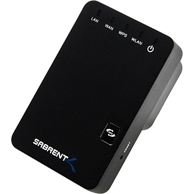 Sabrent™ WR-WN300 2.4 Ghz 801.11n Wireless N Broadband Router With Internal Antenna, 300 Mbps