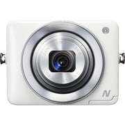 Canon® PowerShot N 12.1MP Compact Digital Camera, White