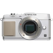 Olympus E-P5 16 MP Digital Camera, White, (11196753)