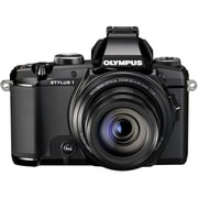 Olympus® STYLUS-1 12MP Bridge Camera, Black