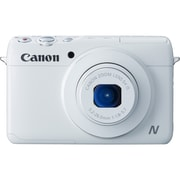 Canon® PowerShot N100 12.1MP Compact Digital Still Camera, White