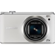 Samsung WB350F 16.3 Megapixel Smart Camera, White