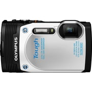 Olympus® Tough TG-850 16MP Compact Digital Camera, White