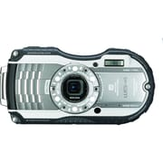 Pentax WG-4 GPS 16MP Compact Digital Waterproof Camera, Silver