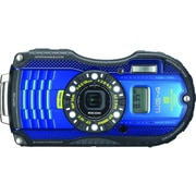 Pentax WG-4 GPS 16MP Compact Digital Waterproof Camera, Blue