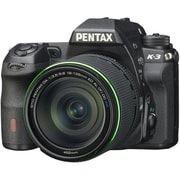 Pentax K-3 23.4MP Digital SLR Camera Body With Lens Kit, Black