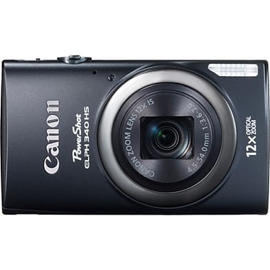 Canon® PowerShot ELPH 340 HS 16MP Compact Digital Still Cameras