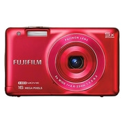 Fujifilm FinePix J Series JX660 16MP Compact Camera, Red