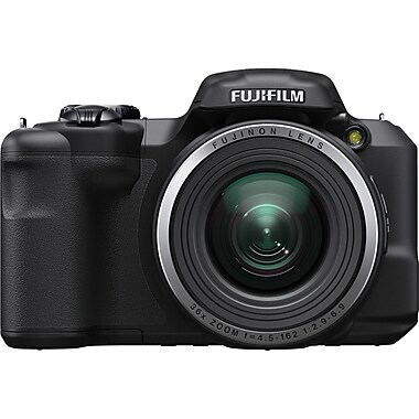 Fujifilm FinePix S8600 16 MP Compact Digital Camera, 36x Optical Zoom, 4.5-162 mm Focal Length, Black