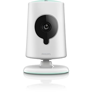 Philips B120E/37 In.Sight Wireless HD Baby Monitor Video Camera For Apple/Android Devices, White