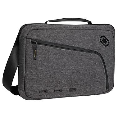 Ogio® Newt Carrying Case F/13in. Notebook, iPad, Tablet, Portable Reader, Dark Static/Black/Dark Gray