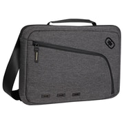 Ogio® Newt Carrying Case F/13 Notebook, iPad, Tablet, Portable Reader, Dark Static/Black/Dark Gray