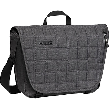 Ogio® Newt Messenger Bag For 13in. Notebook, Dark Static