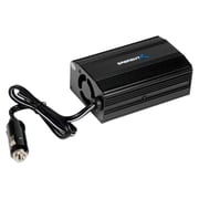 Sabrent 300 W Power Inverter With USB Charger, 12 VDC Input, 5 VDC, 120 VAC Output, 3 Outlets