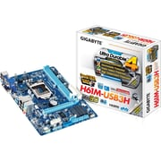 GIGABYTE® Ultra Durable 4 Classic GA-H61M-USB3H 16GB DDR3 Intel H61 Micro ATX Desktop Motherboard