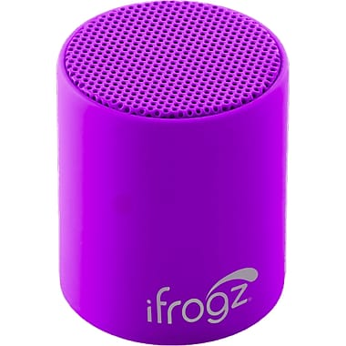 Zagg® ifrogz® Coda POP Wireless Bluetooth Speaker, Grape