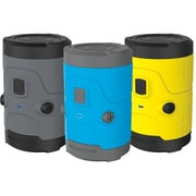 Scosche® boomBOTTLE H20 Rugged Waterproof Wireless Bluetooth Speaker, Yellow