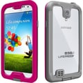 LifeProof® nuud Case For Samsung Galaxy S4, Magenta/Gray/Clear