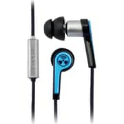 Zagg® ifrogz® Earpollution Equinox Noise Personal Audio Earphones, Blue