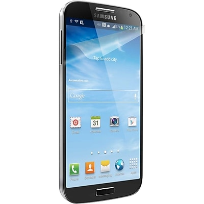 Cygnett OptiClear Screen Protector For Samsung Galaxy S4, Clear