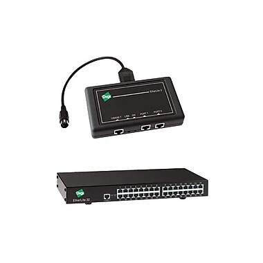 Digi® EtherLite 32 - 32-Port RS-232 RJ-45 Terminal Server With Rack Kit