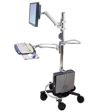 Ergotron® 90-015-100 Mobile work stand Handle, Chrome