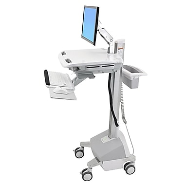 Ergotron® SV42-6202-1 Styleview® Life Powered Cart With LCD Arm