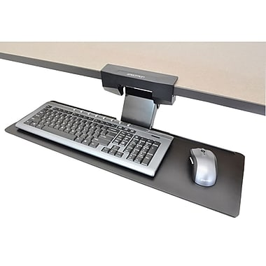 Ergotron® Underdesk Keyboard Arm, Black
