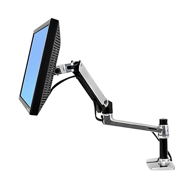 Ergotron® LX 45-241-026 Desk Mount LCD Arm, Up to 24