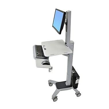 Ergotron® 24-198-055 WorkFit-C Single LD Sit-Stand Workstation, Grey