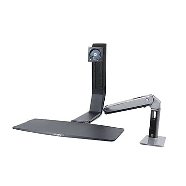 Ergotron® WorkFit-A Single LCD Mounting Arm, Black