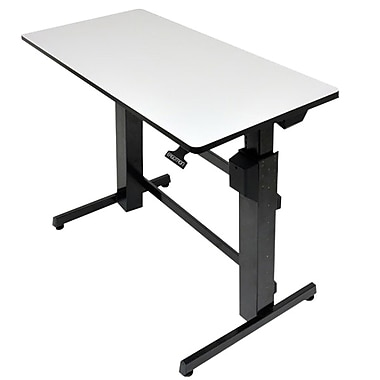 Ergotron® 24-271-926 Workfit-D Surface Sit-Stand Desk, Grey