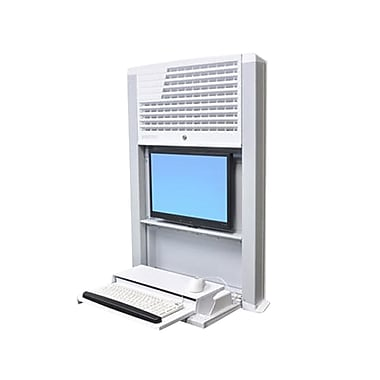 Ergotron® Styleview® 60-610-062 Sit-Stand Enclosure, White