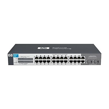 HP® 2915-8G-POE ProCurve Stackable Managed Ethernet Switch, 10-Ports