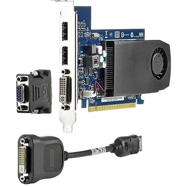 HP® NVIDIA GF GT 630 DP PCIe FH x16 Video Graphic Card, 2GB