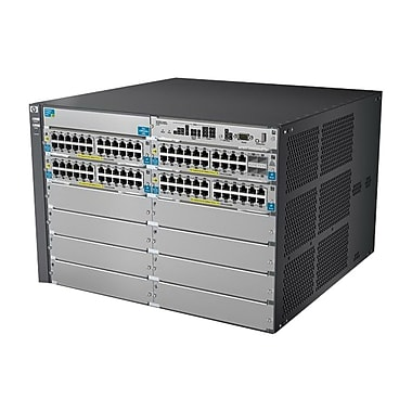 HP® 5412-92G-PoE+-4G v2 zl 92-Ports Managed Switch With Premium Software