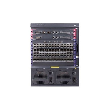 HP® 7506 Manageable Switch Chassis With 2 48-Port Gig-T PoE+ Modules and 384Gbps MPU