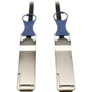 Tripp Lite N282-05M-BK 5m QSFP+ Male/Male Passive DAC Copper Infiniband Cable, Black