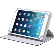 "V7 TUC25R-8-GRY-14N Polyurethane Universal Rotating Case and Stand for 8"" Apple iPad Mini and Tablet PCs, Gray"