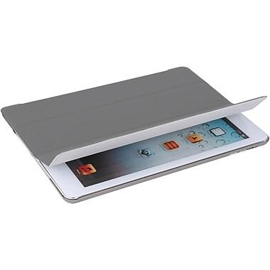 V7 TA55-10-GRY-14N Polyurethane Ultra Slim Tri-fold Folio Case for Apple iPad Air, Gray
